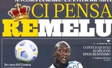 """Romelu Lukaku op de voorpagina van La Gazzetta dello Sport na nieuwe goal: """"83 miljoen goed gespendeerd"""""""