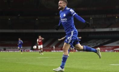 Onvermijdelijke Jamie Vardy smeert Arsenal derde nederlaag in vier wedstrijden aan