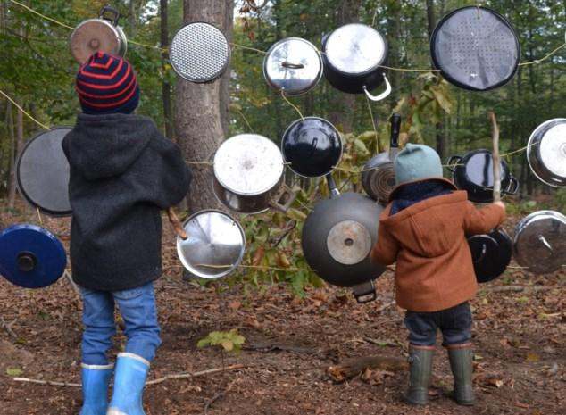 Nieuw speel- en avonturenpad in Gewestbos in Ravels
