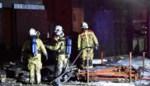 Woning in aanbouw zwaar beschadigd door brand