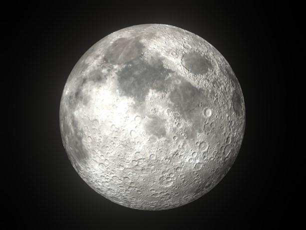 NASA ziet water op de maan en wil er opnieuw naar toe