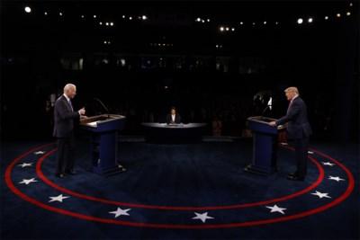 """Het moment waarop Trump zijn tegenstander op glad ijs duwde: """"Dit heeft Biden pijn gedaan"""""""