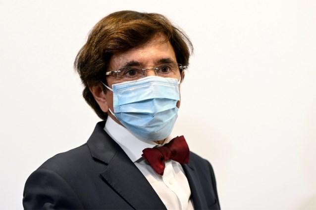 """Elio Di Rupo sluit """"bijkomende maatregelen"""" in Wallonië niet uit"""