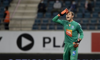 Davy Roef in doel tijdens Europa League-duel tegen Hoffenheim, Duitsers zonder topschutter?