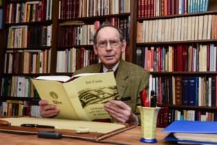 """Historicus Jan Cools overleden: """"Ik ben 80 mogen worden en ben gelukkig geweest"""""""