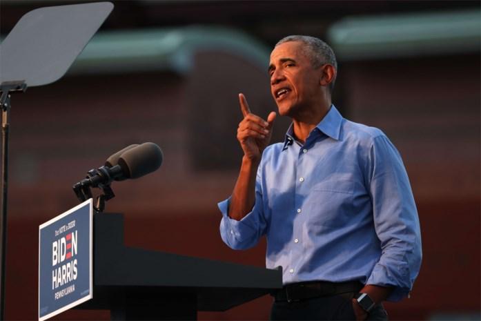 """Het geheime wapen van Joe Biden treedt op de voorgrond: """"Barack Obama nu pas inzetten is een goede tactische zet"""""""