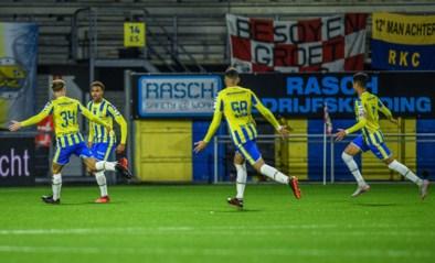 Cyril Ngonge (ex-Club Brugge) helpt RKC met knappe treffer aan punt tegen Feyenoord