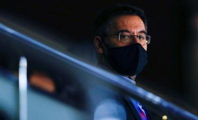 Voorzitter Josep Maria Bartomeu stapt voorlopig niet op bij Barcelona