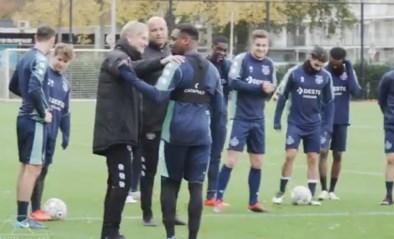 Belg die op intensieve zorgen lag met corona verschijnt opnieuw op training bij Willem ll