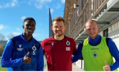 Mignolet, Kossounou en Krmencik trainen opnieuw mee mij Club Brugge na coronabesmetting