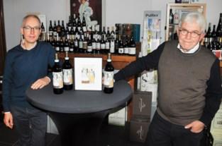 """Kunstenaar Norbert mocht etiket ontwerpen voor Italiaanse wijn: """"Leuk om je kunstwerk op een fles wijn te zien staan"""""""