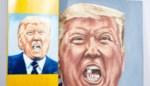 Schilderij van Trump geveild ten voordele van Jordaans skatepark