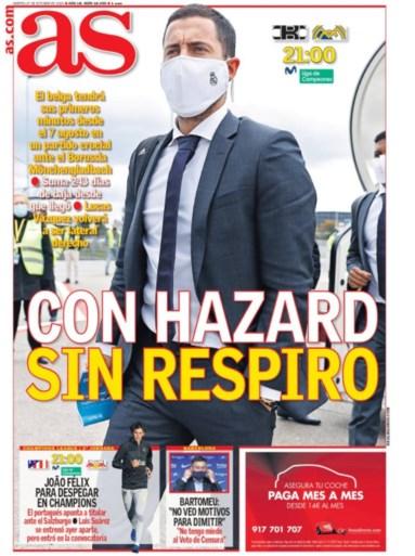 Alle ogen in Spanje gericht op Eden Hazard: Zidane pokert bij Real Madrid met verrassing in Champions League