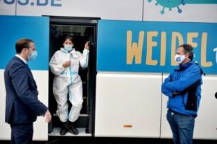 Dankzij de eerste sneltestbus van Vlaanderen weet je binnen het kwartier of je bedrijf of school coronavrij is