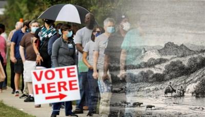 Altijd op dinsdag en geen vrijaf: waarom Amerikaanse verkiezingen nog steeds op dezelfde dag gehouden worden als 175 jaar geleden