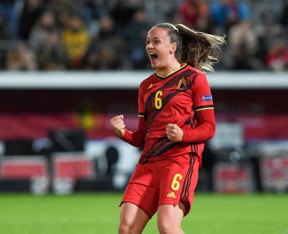 Monsterscore voor de Red Flames in EK-kwalificatie: België hakt Litouwen met 0-9 in de pan