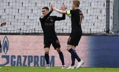 OVERZICHT CHAMPIONS LEAGUE. Kevin De Bruyne dirigeert City naar winst, Hazard valt in en ziet Real zich terug in de match knokken