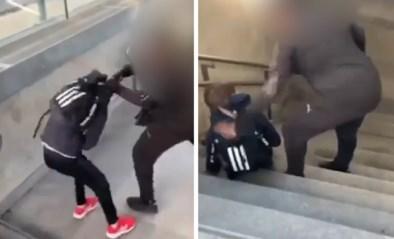 Man schopt en gooit tiener van trap in station Kortrijk, politie onderzoekt de zaak