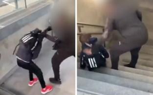 Jongen schopt en gooit tiener van trap in station Kortrijk, politie onderzoekt de zaak