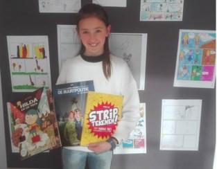 Marit wint stripwedstrijd