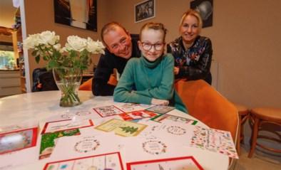 """Vlaamse artiesten met kerstkaartjes in de bres voor Kiana (12) met botkanker: """"Waarom zouden we niet mogen hopen op een mirakel?"""""""