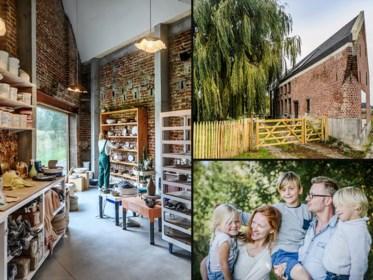 Binnenkijken in de groene oase met atelier van Joachim en Frauke