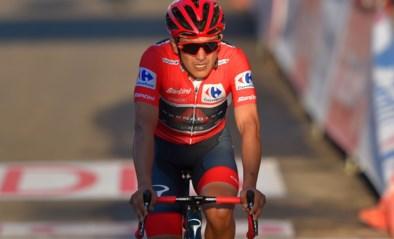 Dit zijn de gevolgen van de Alto de Moncalvillo in de stand van de Vuelta: gewijzigde top vier binnen de minuut