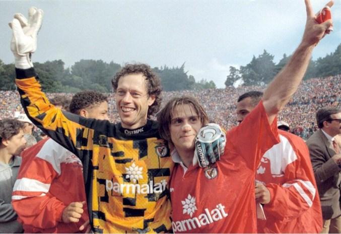"""De Benfica-jaren van Standard-icoon Michel Preud'homme: """"Hij is hier in Lissabon nog altijd een legende"""""""