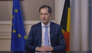 """Alexander De Croo heeft videoboodschap voor heel België: """"Regels voor iedereen hetzelfde en ze gaan vanavond in"""""""