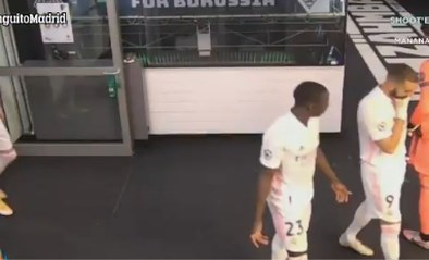 """Spaanse media zien hoe Karim Benzema vraagt om de bal vooral niet aan Vinicius te geven: """"Hij speelt tegen ons"""""""