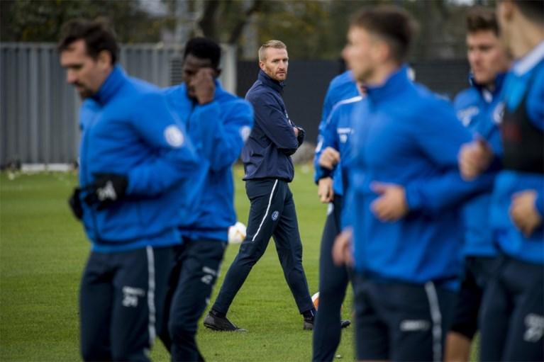 """Wim De Decker prikkelt zijn spelersgroep in aanloop naar duel tegen Hoffenheim: """"Mooie uitdaging"""""""
