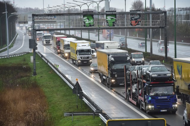 Twee miljoen euro voor filestaartbeveiliging aan Oosterweelwerken