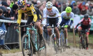 Wout van Aert en Mathieu van der Poel rijden drie keer tegen elkaar in X2O Badkamers Trofee