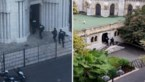 Beelden opgedoken van Franse politie die basiliek in Nice binnenvalt na terreuraanslag