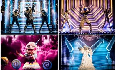 'The masked singer' nadert zijn ontknoping: wie van de vier sneuvelt net voor de finale?