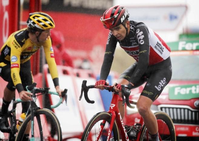 """Neoprof Kobe Goossens ruilde het veld voor de weg en is nu beste Belg in Vuelta: """"Sven Nys heeft dan toch gelijk gekregen"""""""
