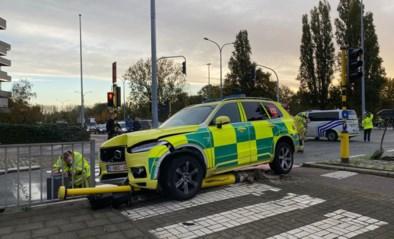 Twee gewonden bij ongeval met MUG-ziekenwagen
