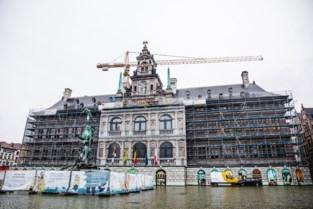 Stadhuis toont opnieuw stukje gevel