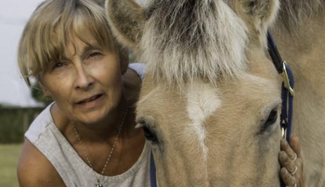 """Paarden trokken Hilde (51) uit haar burn-out, nu helpt ze hen met acupunctuur: """"Maar ik gebruik wel alleen maar mijn vingers en handen"""""""