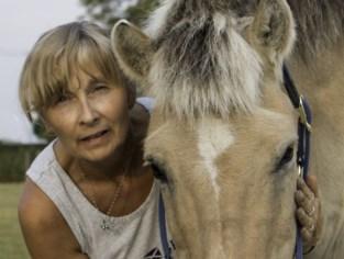 """Paarden trokken Hilde Diels (51) uit haar burn-out, nu helpt ze hen met acupunctuur: """"Maar ik gebruik wel alleen maar mijn vingers en handen"""""""