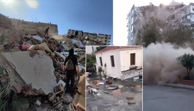 Zeker 6 doden en meer dan 100 gewonden bij zware aardbeving in Turkije en Griekenland