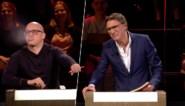 Philippe Geubels laat Erik Van Looy zijn mopje niet afmaken in grappige 'De slimste mens'-blooper