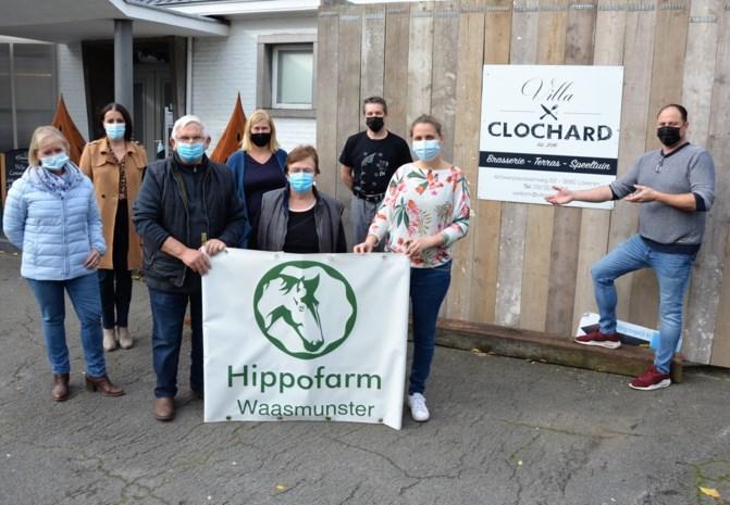 Clochard springt Hippofarm ter hulp