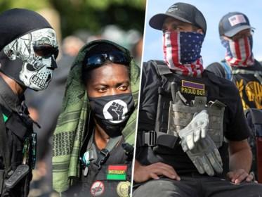 Elke kant heeft z'n knokploeg: Proud Boys willen westerse beschaving beschermen, NFAC strijdt voor eigen zwarte staat