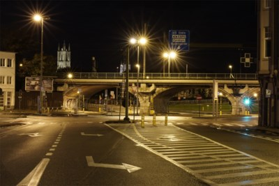 FOTO. Op wandeling door het akelig stille Gent, na de avondklok