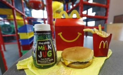 Kindjes die verkleed zijn krijgen een gratis Happy Meal bij McDonalds