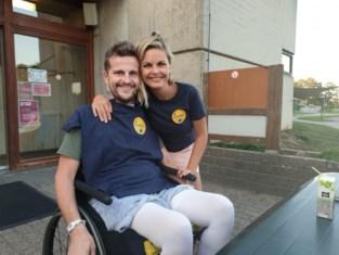 """Heel dorp griezelt voor Jeremy (36) die verlamd raakte bij fietsongeval in Alpen: """"Al die steun motiveert mij zo hard"""""""