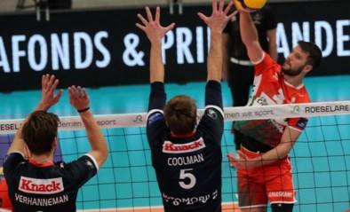 Roeselare wint topper tegen Maaseik en staat alleen aan kop in Euromillions Volley League