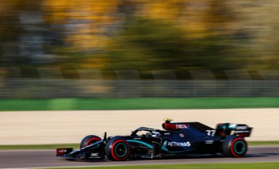 Valtteri Bottas snoept polepositie af van Lewis Hamilton voor GP van Emilia-Romagna