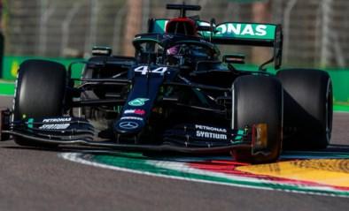 Lewis Hamilton snelste tijdens enige oefensessie GP van Emilia-Romagna